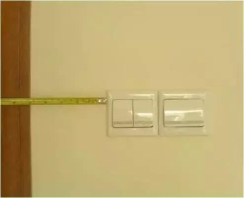 开关、插座的定位标准你知道吗?水电安装的各项标准全攻略
