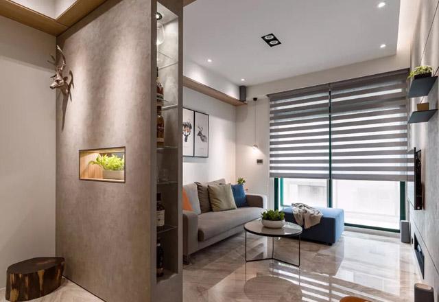 60平米的老房改造 浓缩了的高级感