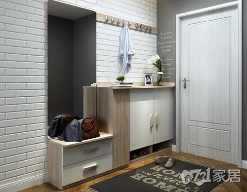 窄地方鞋柜设计