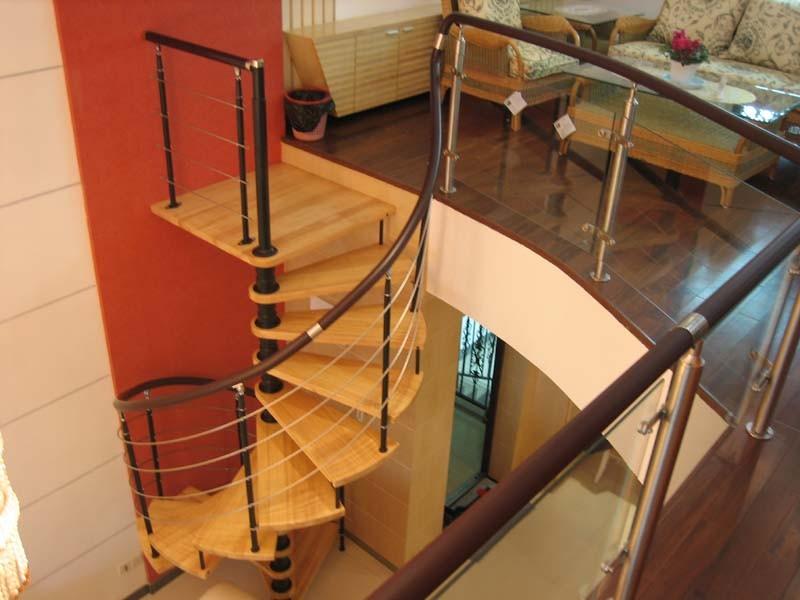 湖南金牌楼梯钢木梯系列